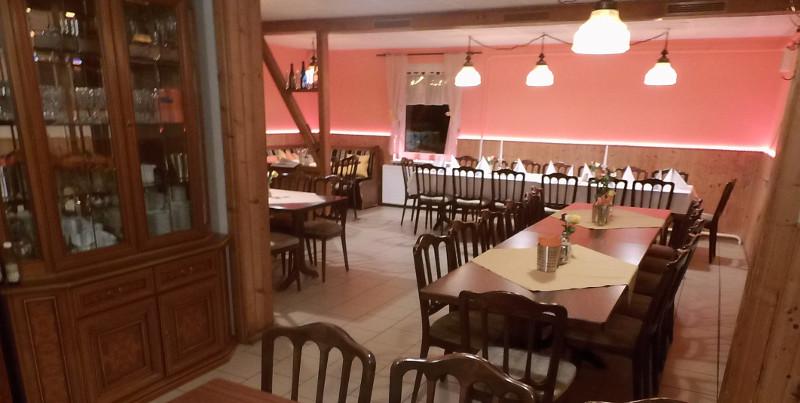Restaurant der Bergbaude Albrechts